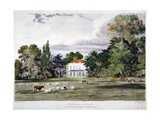 Old Park  Clapham  London  C1830