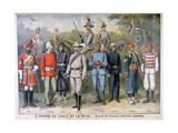 Military Uniforms of the British Colonial Army  1897