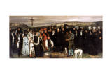 The Funeral at Ornans  1850
