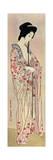 A Japanese Woman Wearing a Nagajuban  1920