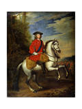 Portrait of King George I of Great Britain  1717