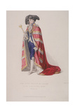 Lord Mayor of London  John Thomas Thorp  Dressed for a Royal Coronation  1821