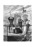 The Execution of Lady Jane Grey  1554