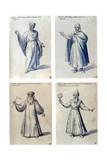 Costume Design for Classical Figures  16th Century