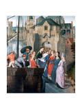 St Ursula Shrine  Arrival in Cologne  1489