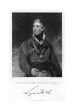 Thomas Graham  1st Baron Lynedoch  Scottish Politician and Soldier  1831