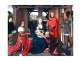 Adoration of the Magi  Triptych  Central Panel  C1453-1494