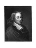 Blaise Pascal  17th Century French Philosopher  Mathematician  Physicist and Theologian  C1830