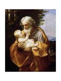 Saint Joseph with Infant Christ  1620S