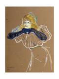 The Singer Yvette Guilbert  1894