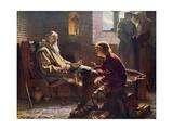 The Venerable Bede Translating the Last Chapter of St John  1926