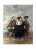 The Judge and the Litigants  1866