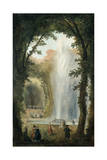 The Water Feature of the Grove of the Museum of Marly  Late 18th-Early 19th Century