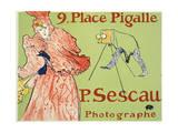 9  Place Pigalle  P Sescau Photographe  1894