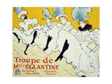 La Troupe De Mlle Églantine  1896