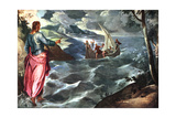 Christ at the Sea of Galilee  C1575-1580
