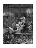 Scene at a Synagogue  the Great Day of Atonement  6th October 1897
