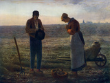 The Angelus  1857-1859
