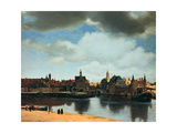 View of Delft  Netherlands  after the Fire  C1658