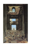 The Ruins of the Tuileries Palace after the Commune of 1871  1877