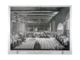 Ceremony in Westminster Hall  London  1811
