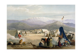 British Army Camp at Dadur at the Entrance to the Bolan Pass  First Anglo-Afghan War  1838-1842