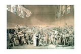 Tennis Court Oath  June 20 1789  Paris