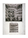Theatre Royal English Opera House  Westminster  London  1817