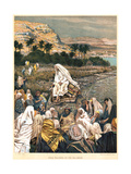 Jesus Teaching on the Sea Shore  C1890