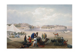 British Army under Canvas at Roree on the Indus  First Anglo-Afghan War  1838-1842