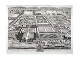 Aerial View of the Seat of the Dukes of Beaufort  Chelsea  London  C1720
