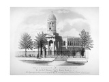 View of St James' Church  West Hackney  London  C1825