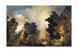 La Fete a St Cloud (A Celebration in St Cloud)  C1775-1780