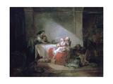 Interior Scene  Late 18th Century