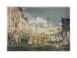 Bartholomew Fair  West Smithfield  City of London  1813