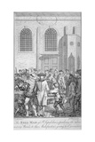 Bell Man at St Sepulchre Church  City of London  1785