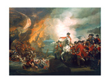 Defeat of the Floating Batteries at Gibraltar  1782