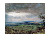 Hampstead Heath with Harrow in the Distance  C1821