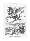 Pegasus Unharnessed  1865