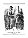 New Crowns for Old Ones!  Benjamin Disraeli Offering the Crown of India to Queen Victoria  1876