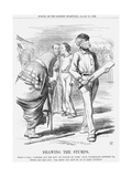 Drawing the Stumps  1862