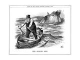 The Pilgrim's Rest  Caricature Af Paul Kruger  South African Politician  1900