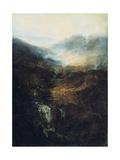Morning Amongst the Coniston Fells  Cumberland  1798