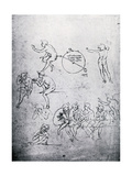 Studies for the Adoration of the Magi and the Last Supper  15th Century