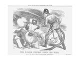 The Yankee Fireman Keeps His Word  1866