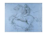 Study for the Sforza Monument, C1488-1493 Giclée par Leonardo Da Vinci