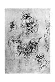 Studies for a Madonna Del Gatto  15th Century