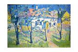 Spring - Blossoming Garden  1904
