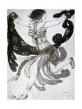 Cleopatra  Ballet Costume Design  1909