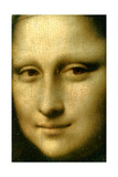 Portrait of Mona Lisa' (Detail), 1503-1506 Giclée par Leonardo Da Vinci